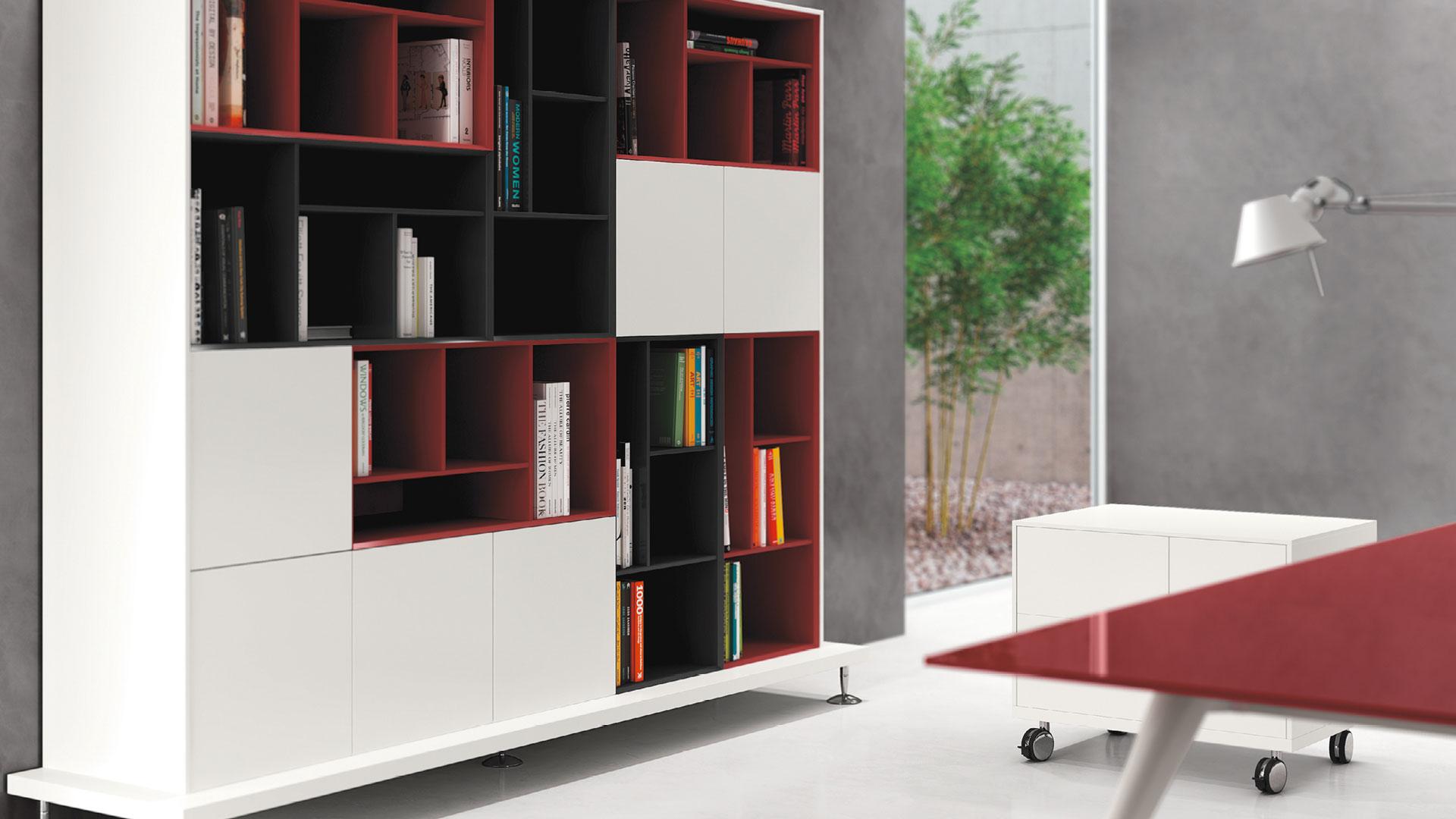 Libreria ufficio enosi mobile archivio ufficio las mobili for Las mobili ufficio