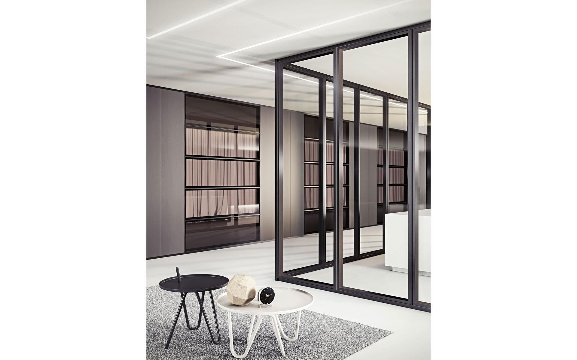 Parete mobile divisoria per ufficio over modulo pareti - Parete mobile divisoria ...