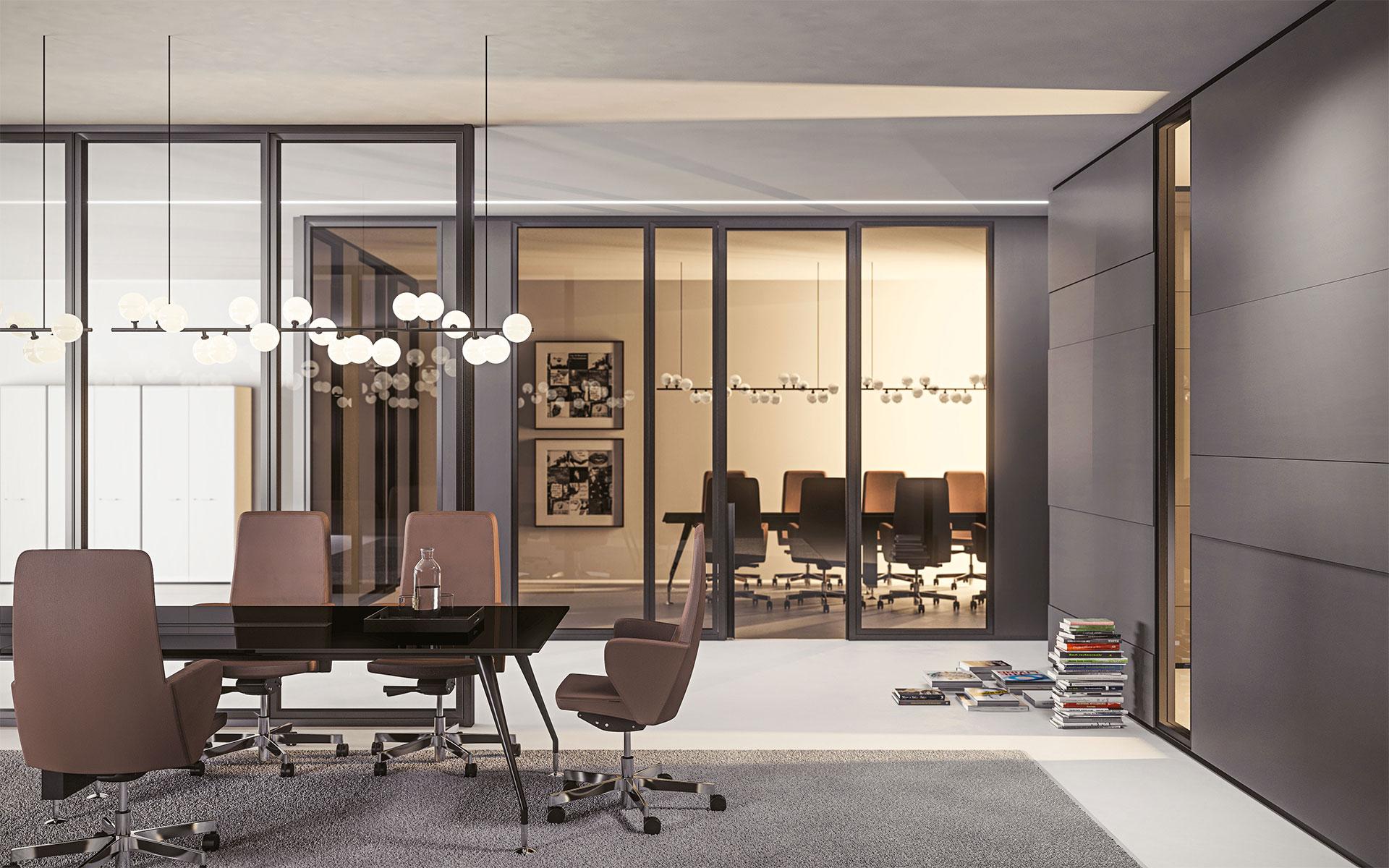 Parete mobile divisoria per ufficio over modulo pareti - Parete divisoria mobile ...