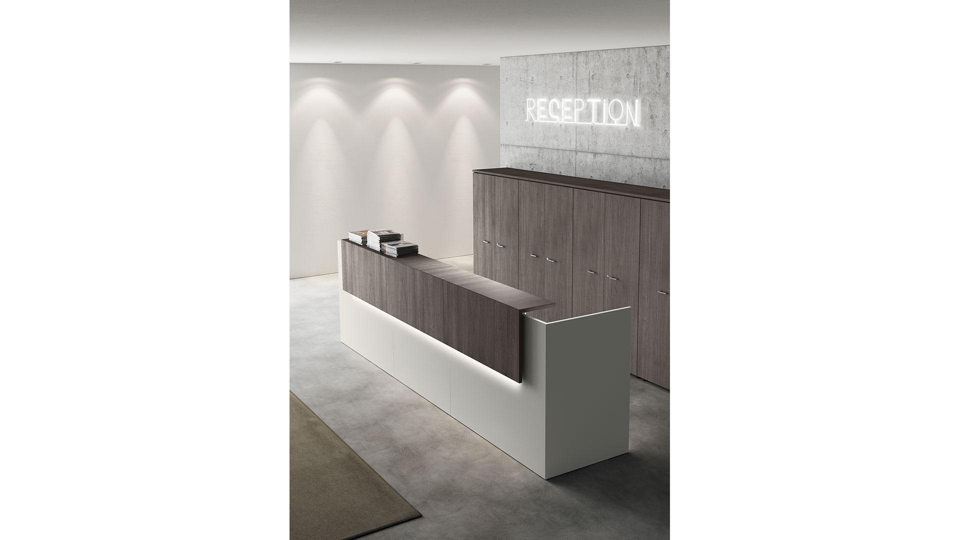 Reception per ufficio las bancone point