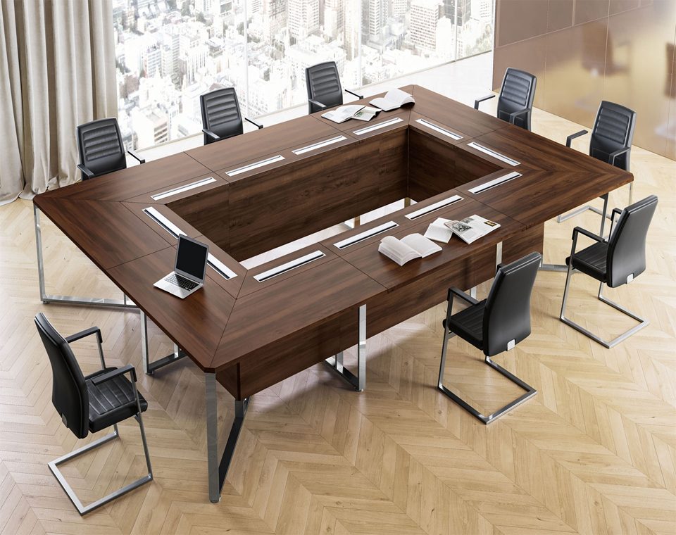 Come arredare una sala riunioni atu for Tavoli arredo