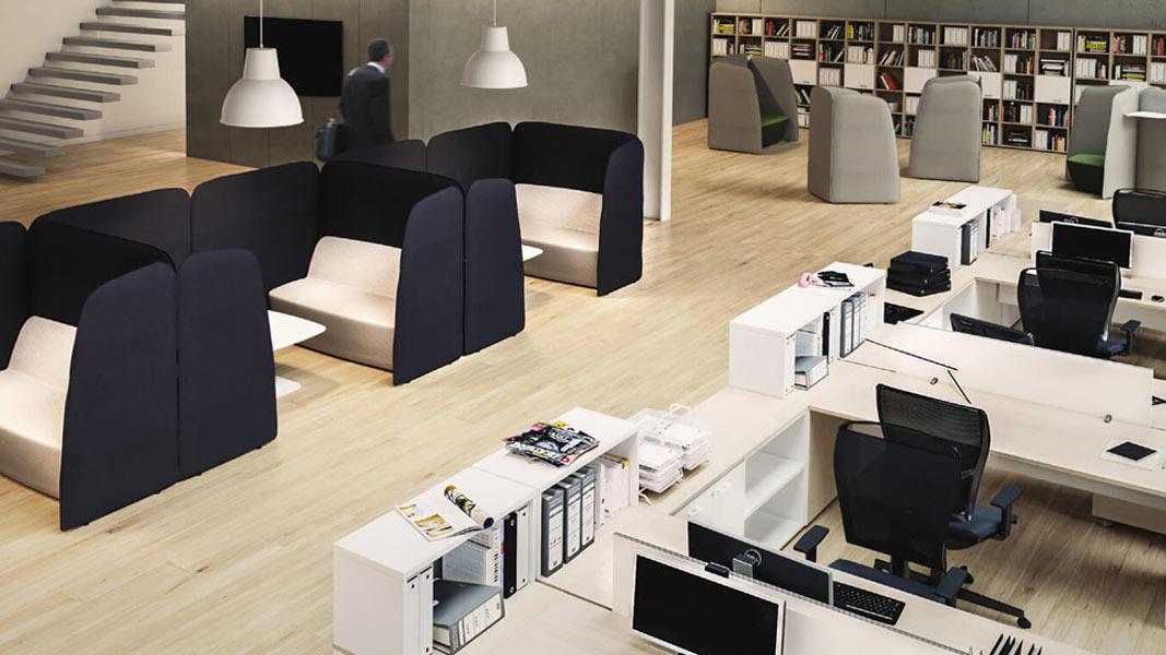 Arredamento ufficio moderno atu - Come arredare un ufficio moderno ...