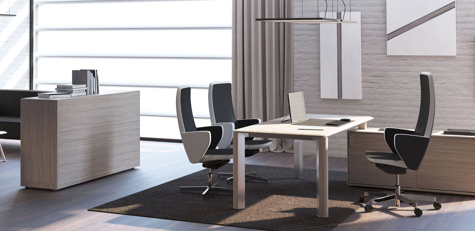 Arredo ufficio arredamento e mobili per ufficio su misura for Mobili per reception