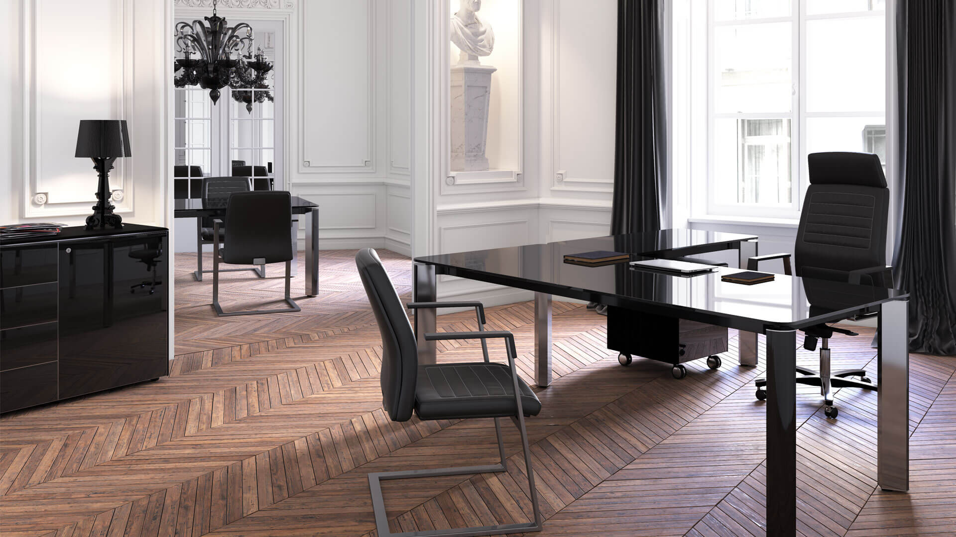 Scrivania ad angolo direzionale scrivania las iulio hg - Pegaso mobili catalogo ...