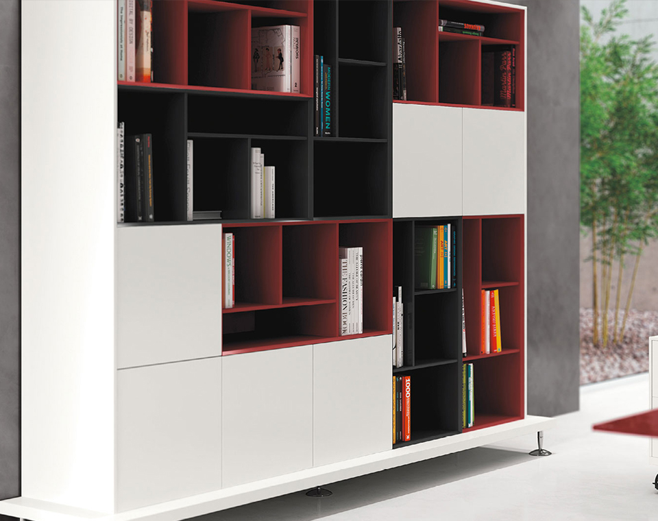 Mobili Ufficio Libreria : Libreria ufficio enosi mobile archivio ufficio las mobili