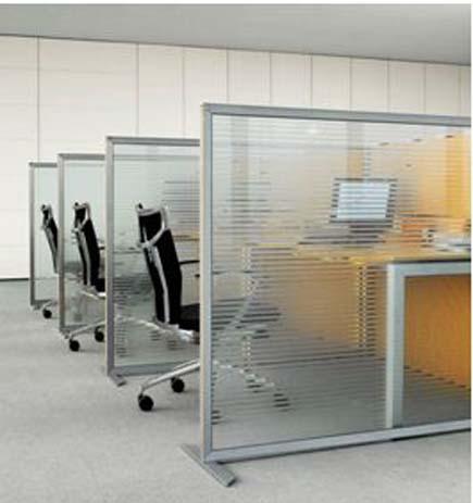 Arredamento ufficio open space mobili per ufficio a t for Divisori mobili per ufficio
