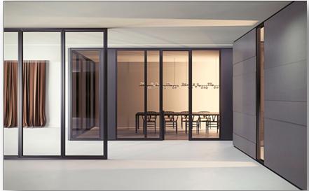 Pareti divisorie ufficio open space atu for Pareti mobili ufficio