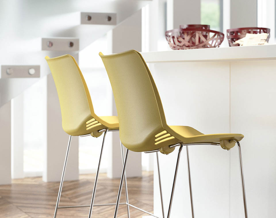 Sgabelli ufficio sgabelli ergonomici e sedie ospiti per - Poggiapiedi ufficio ...